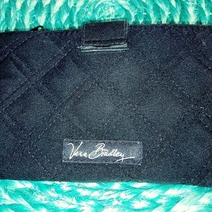 Black fabric Vera Bradley wallet